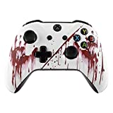White Bloody Rapid Fire Custom Modded Controller Compatible with Xbox One S/X 40 Mods for All Major Shooter Games (3.5 mm Jack)