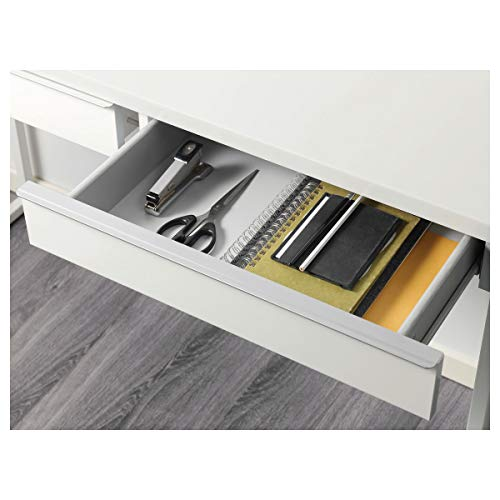 IKEA Schreibtisch BESTå BURS 120x40x74cm Hochglanz weiß