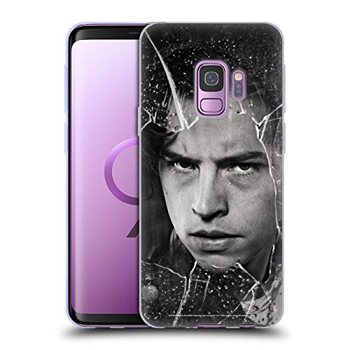 Head Case Designs Officially Licensed Riverdale Jughead Jones Broken Glass Portraits Soft Gel Case Compatible with Samsung Galaxy S9