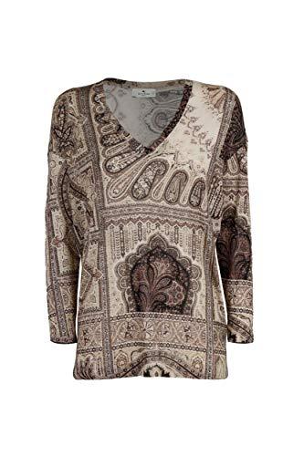 Etro Luxury Fashion Damen 192355217990 Grau Viskose Bluse | Herbst Winter 20