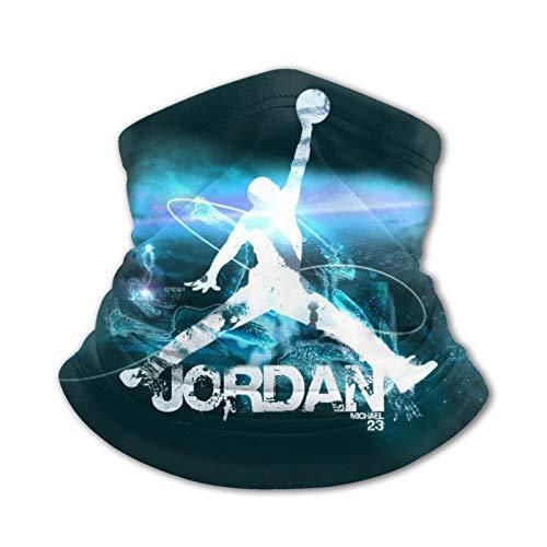 Kids Bandanas Neck Gaiter Michael Basketball God Jordan Face Mask...