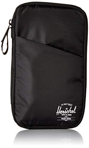 Herschel Travel Wallet, Black, One Size