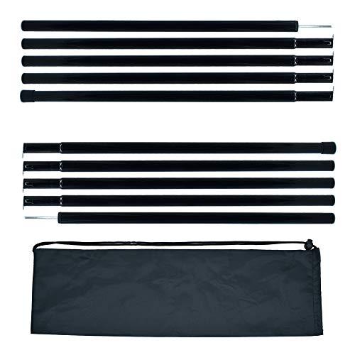 BATDIYOW Lightweight Tent/Tarp Poles