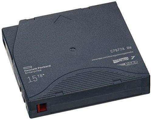 HP C7977A RW-Datenkassette LTO-7 Ultrium, 15 TB, schwarz