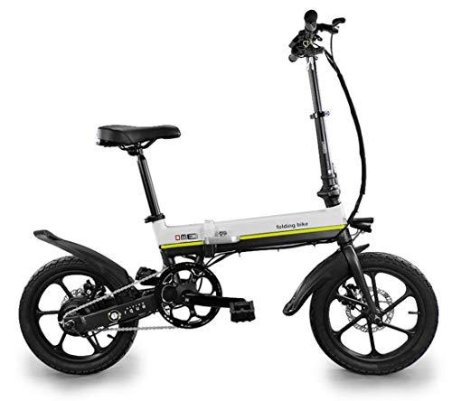 dme bike Bicicletta Elettrica Pieghevole a Pedalata Assistita 16'€ 250W Formia V1.0 Small Bianca