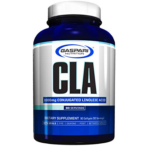 Gaspari Nutrition CLA Paquete de 1 x 90 Softgels - Ácido Linoleico Conjugado - Adelgazante - Quemador de Grasa
