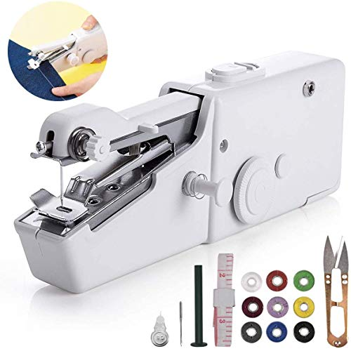 Arespark Handheld Sewing Machine, Mini Sewing Machine, Portable Sewing Machine with Sewing Machine Needle