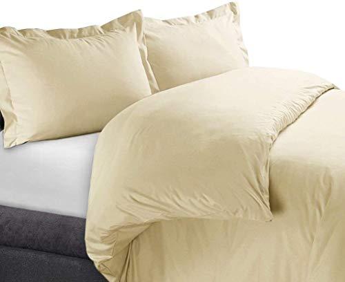 Exclusive Sheets Hotel 7 piezas (funda nórdica y juego de sábanas de 30 cm de profundidad) – 1000 hilos de algodón egipcio 100% (tamaño emperador, gris pardo sólido)
