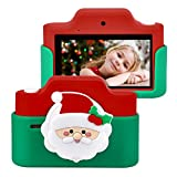 Swiftion 3.0 Inches 48 Megapixels Touch Screen Kids Digital Camera, WiFi Connection Toddler Camera with Dual Camera, 1080P HD Digital Video with Silicone Protective Camera for Kids