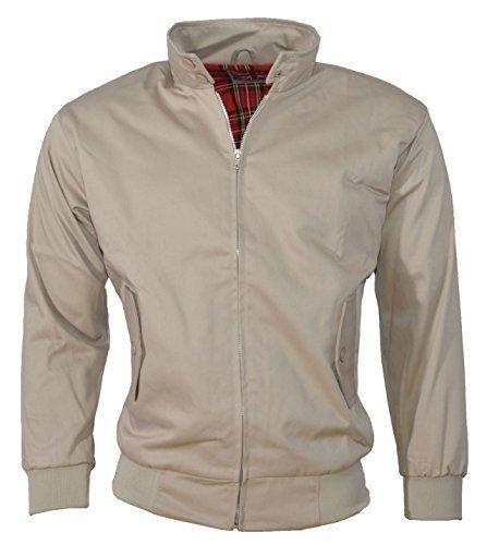 Urban Couture Clothing, Unisex Bomberjacke Harrington - Beige, XL