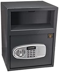 Digital entry eliminates the need for making multiple key copies Easy to operate and program Includes 2 separate safes for added security An easy access deposit slot makes it simple to leave deposits at the end of the day Simple programmable Electron...