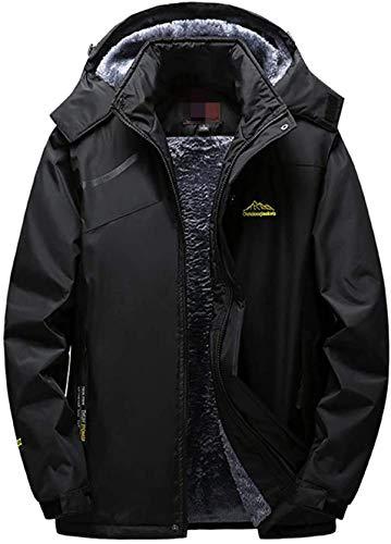 Clearance Winter Coat, NRUTUP Mens Outdoor Cashmere Thickening Hoodie Zipper Sport Outdoor Assault Outwear Top Jacket