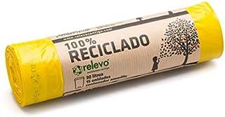 comprar comparacion Relevo 100% Reciclado Bolsas de Basura, extra resistentes 30 L, 15 bolsas
