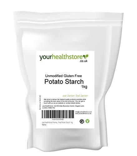 yourhealthstore - Almidón de patata sin gluten sin modificar (1 kg, vegano,...