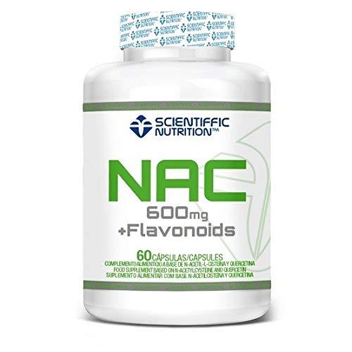 Nac+ Flavonoids 600mg 60 Cápsulas