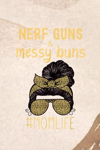 Room Chore List: Nerf Guns And Messy Buns Funny Momlife Leopard Print