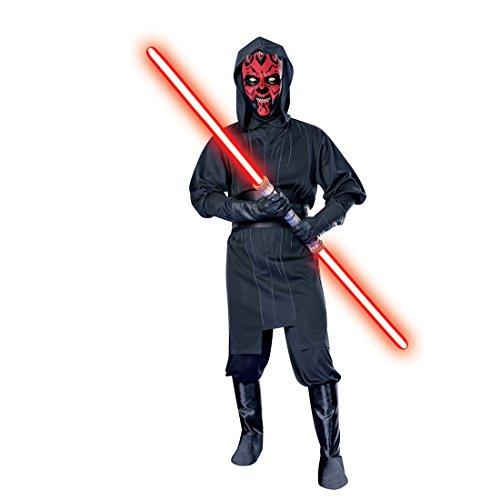 Original Darth Maul Disfraz Starwars Señor Disfraz Star Wars Sith Lord película Disfraz licencia Disfraz M/L 4852
