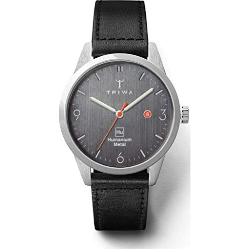 Triwa Hu 39D Gray Armbanduhr, Schwarz