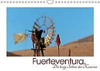Fuerteventura. Die karge Schoene der Kanaren (Wandkalender 2022 DIN A4 quer): Fuerteventura, karge Schoenheit mit explosiven Farben (Monatskalender, 14 Seiten )