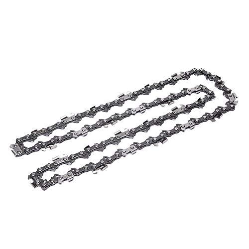 Cadenas de motosierra 3/8', grosor de eslabones de 1,3 mm, 57 eslabones guide-cadena de 40 cm, compatible con Oregon Bosch Dollmar Hitachi Echo Einhell Makita Husqvarna y otros (Estilo: C)