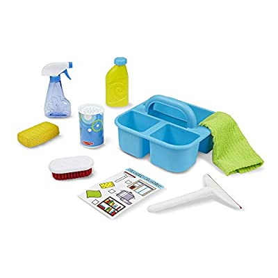 Melissa & Doug Spray, Squirt & Squeegee Play Set - Pretend Play Cleaning Set