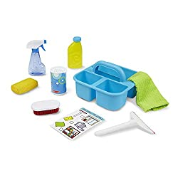 pretend play toys cleaning set