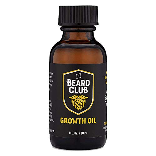 The Beard Club | Beard Growth Oil | Promote a...
