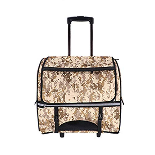 liu Huisdier trolley, multifunctionele hond kofferuit rugzak Pet Carrier Outdoor reis-looptas kleine dierenbuggy