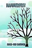 Hammerfest - Notiz- und Tagebuch: Winterurlaub in Hammerfest. Ideal für Skiurlaub, Winterurlaub oder Schneeurlaub. Mit vorgefertigten Seiten und ... Notizbuch oder als Abschiedsgeschenk