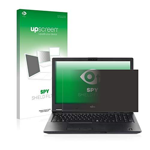 upscreen Blickschutzfilter kompatibel mit Fujitsu Lifebook E5510 Privacy Filter - Anti-Spy Blickschutzfolie Sichtschutz-Folie