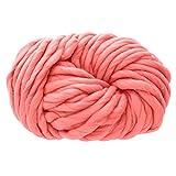 0.55lb Wool Chunky Yarn,Big Roving Yarn,Arm Knitting Yarn Chunky Wool Yarn Bulky Wool Yarn Giant Knit Yarn Extreme Knitting for Loom Weaving Knitting,Crocheting an Felting,Blanket Yarnm,Medium-20mm