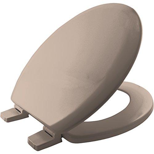 Bemis 5001AR Chicago Sta-Tite Wc-Sitz aus Holz mit Sta-Tite Kunststoffscharnieren, cremefarben (weich)