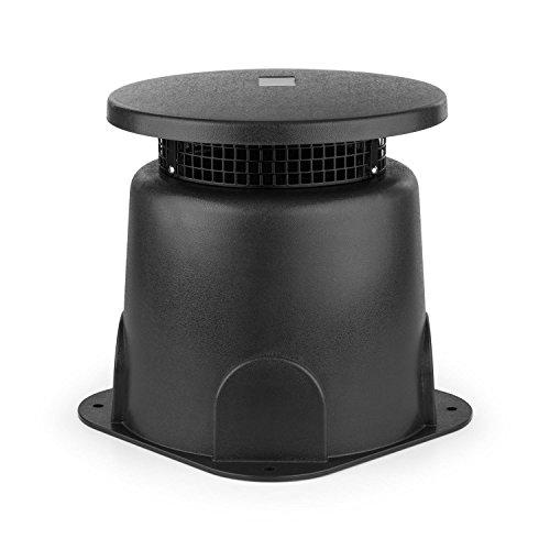 Scopri offerta per oneConcept GS 665 Outdoor Cassa Altoparlante A Banda Larga da Giardino (30 Watt, Suono surroundsound a 360¡, alloggiamento ABS, protezione acqua) grigio scuro