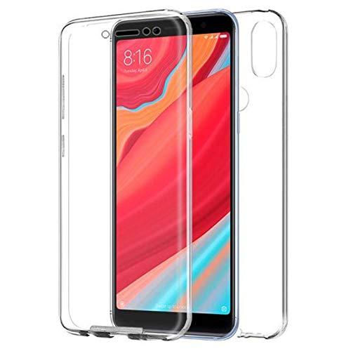 iGlobalmarket Funda para Xiaomi Redmi S2 / Y2 - Carcasa Completa [360] de [Silicona] para móvil - (Frontal + Trasera Transparente)