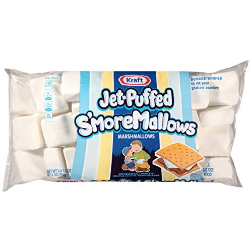 Jet-Puffed S'more Mallows Marshmallows (17.5 oz Bag)