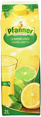 Pfanner Lemon-Lime Mehrfrucht Getränk 25%, 6 x 2 l Packung