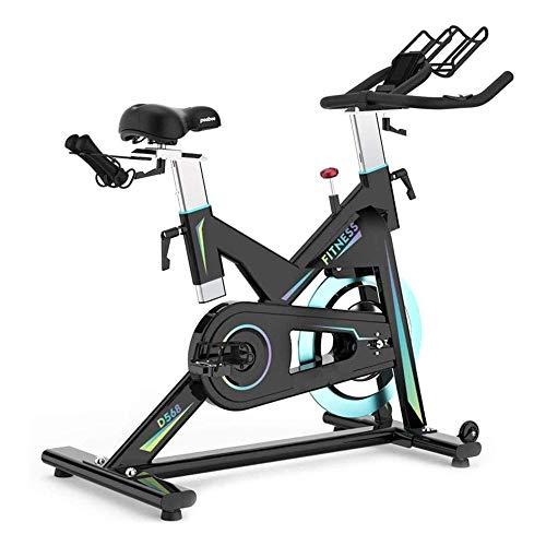 WJFXJQ Silencio Interior Ejercicio Ciclo de la Bici, Bicicleta estacionaria con 35 Libras de Acero Volante y LCDHeart Monitor de Ritmo, for el hogar Entrenamiento
