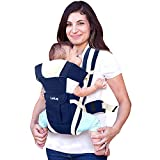 Certified as per European Standard EN 13209 which makes this product safe for little ones 4 Carrying positions ; Material: Polyester ; Horizontal feeding position 3 belts – 2 shoulder belts and one waist belt for superior lumbar support Removable and...