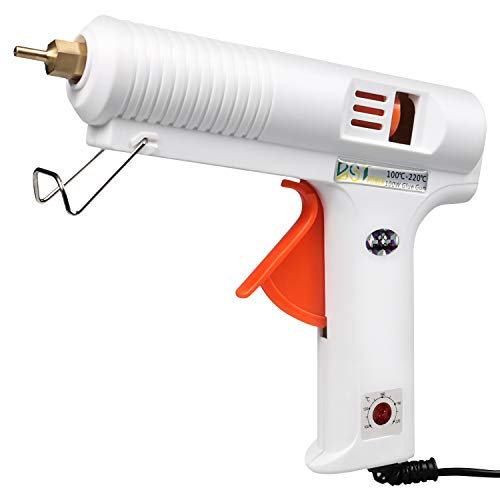 BSTPOWER 100W 2T Full Size (not Mini) Hot Glue Gun with Flexible Trigger High Temp Overheating Protection for DIY or Craft, Melting Glue Gun with with...