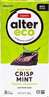 ALTER ECO Deep Dark Crisp Mint Organic Chocolate Bar 80g