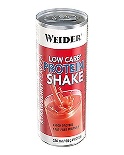 Weider Low Carb Proteine Shake, Fragola