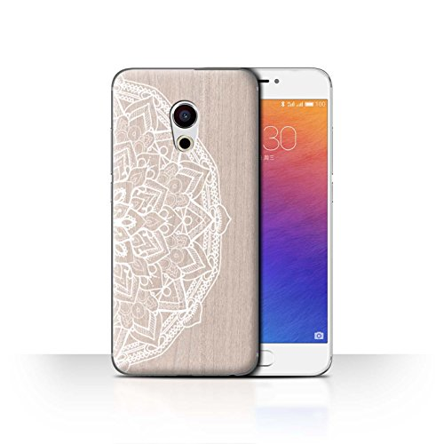 Stuff4Phone Case/Cover/Skin/mzupro6/fine Lace Wood Collection Mandala