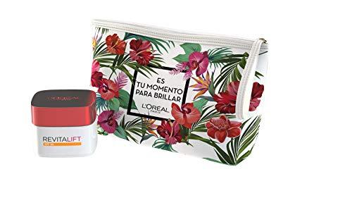 L´Oreal París Dermo Expertise - Set de Regalo, Incluye Neceser + Crema de Día Anti-Arrugas Revitalift SPF 30, 327 gr
