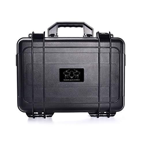 Hunpta @ wasserdichte Koffer Handtasche für DJI Mavic Mini 2, Stoßfest Tragetasche Reise Aufbewahrungstasche Drohne und Zubehör Aufbewahrungs Schutz Zubehör