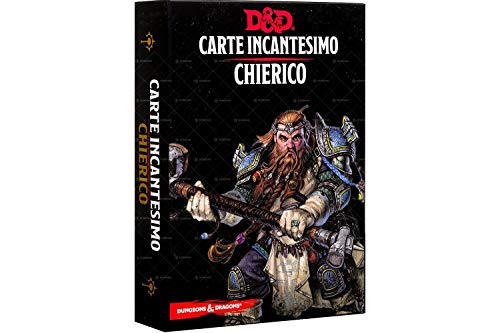 Asmodee- Dungeons & Dragons 5a Edizione Carte Incantesimo Chierico, Colore, 4006