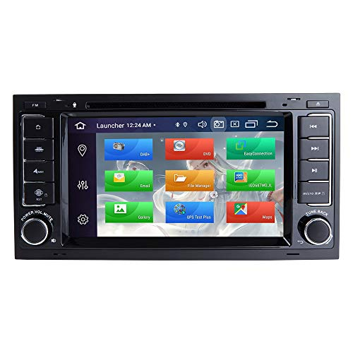 ZLTOOPAI Android 9,0 Octa Core 4G RAM 128G ROM Auto Multimedia-Player für VW Volkswagen Touareg T5 Transporter Doppel Din Head Unit Auto Stereo Auto GPS Radio DVD-Player