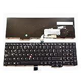 Computer Hardware Accessories Backlit Keyboard W540 W541 W550s T540 T540p T550 L540 E531 E540 L570 0C44913 Computer Hardware Replacement (Color : No Backlit)