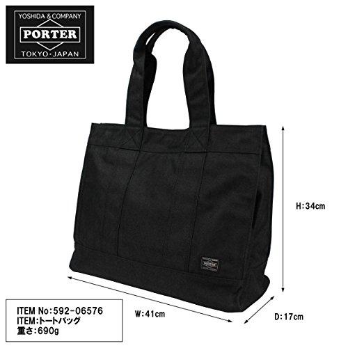 (ポーター)PORTERトートバッグ(L)[SMOKY/スモーキー]592-065762.ネイビー