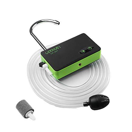 passion 携帯エアーポンプ ウォーターポンプ 酸素ポンプ 簡易手洗い 釣り LEDライト USB充電式 多機能 災害...