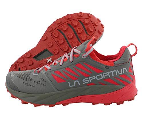 La Sportiva Kaptiva Trail Running Shoe - Women's Clay/Hibiscus, 42.0